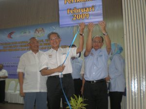 Perasmian oleh Y.B Menteri Pertanian dan Industri Asas Tani Malaysia